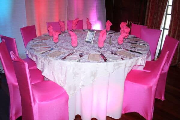 super sweet sixteens custom tablescapes