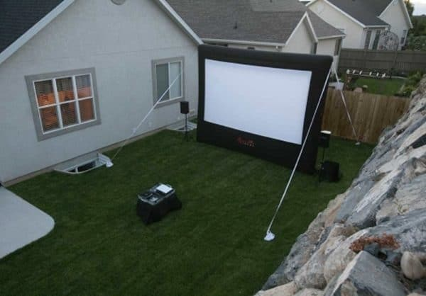 backyard inflatable screen long-island ny
