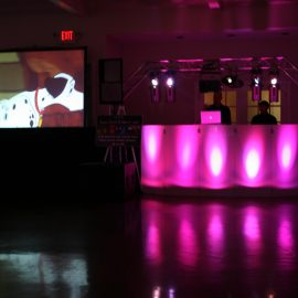 video screen movie long island rental